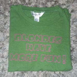 Aeropostale baby tee blonds have more fun